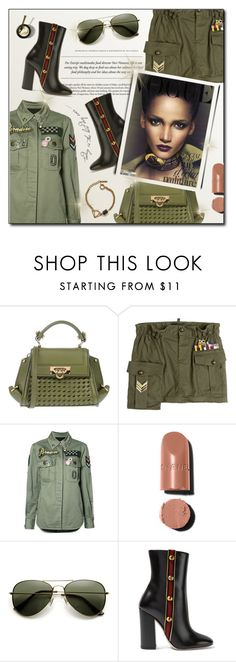 """""""Senza titolo #896"""" by francescar ❤ liked on Polyvore featuring Salvatore Ferragamo, Dsquared2, Marc Jacobs, Chanel, Gucci and Tilly Doro"""