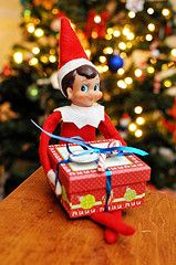An elf bearing a gift | Flickr - Photo Sharing!