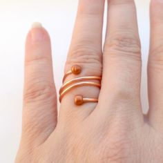Many Loops Ring | CrapAtCrafts.com |