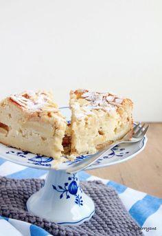 Herbstlicher Apfel-Mandel-Kuchen mit Quark | Raspberrysue