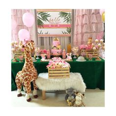 Safari theme baby shower  Baby Shower Party Ideas | Photo 1 of 12