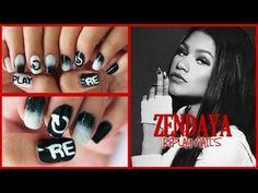 Zendaya - Replay Nails