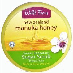 Manuka Honey Sugar Scrub by Wild Ferns (Health and Beauty)  http://www.amazon.com/dp/B002OC9KHG/?tag=pindemons-20  B002OC9KHG