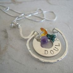 Doula Necklace! By @Monica Forghani Grover!
