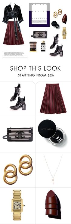 """I had a dream about new land"" by blackyogurtgirl ❤ liked on Polyvore featuring Chanel, Laura Lombardi, Tiffany & Co., Jo Malone, White Label and Anastasia Beverly Hills"