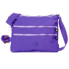 Kipling bag, bright purple, and very well made!  The best thing about it is that each bag comes with its own little gorilla, ala Jungle Book style  :D