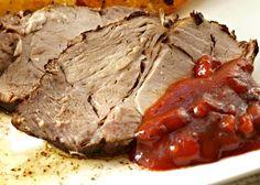 Ostrá kečupová omáčka k pečeným masům