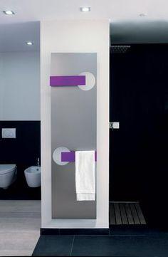 Radiateur s che serviettes eau chaude en aluminium contemporain nuage - Radiateur seche serviette eau chaude ...