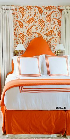 Orange Home Decor, Orange House, Country Charm, Carrot, Comforters, Blanket, Bed, Furniture, Creature Comforts