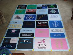 Another Alpha Xi Delta quilt. Made for my g-big.