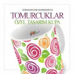Tomurcuklar Seramik Kupa Baskı Mugs, Tableware, Dinnerware, Tumblers, Dishes, Mug, Cups