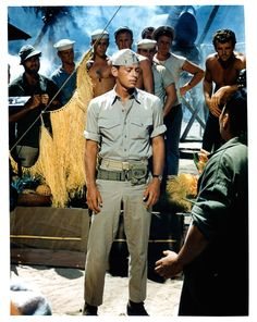 John Kerr as Joe Cable in South Pacific. I auditioned to be his singing voice but they said (correctly) that my voice was too big for Kerr. Old Movies, Great Movies, John Kerr, Zorba The Greek, Turner Classic Movies, Period Movies, Old Hollywood, Classic Hollywood, South Pacific