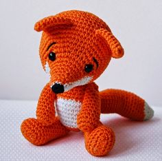 Amigurumi Crochet Fox Pattern - Lisa the Fox - Softie - PlushImportant: Lisa the Fox pattern is available only in English language! This is a listing for the crochet pattern, not finished doll! Are you tired of hearing how foxes are invasive? Crochet Fox, Crochet Gifts, Cute Crochet, Crochet Animals, Crochet Hedgehog, Crochet Turtle, Crochet Whale, Crochet Monkey, Crochet Octopus