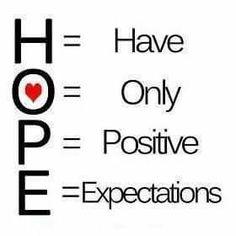 Hope ♡