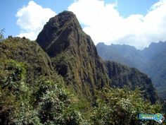 Subindo Huayna Picchu