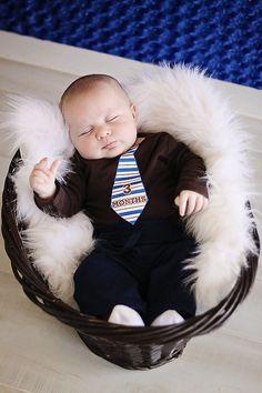 Necktie Monthly Onesie Stickers, Photo Prop, Baby Shower Gift - Little Man (UNCUT). $9.00, via Etsy.