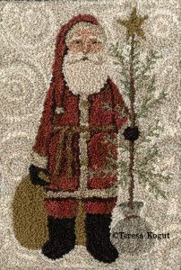PN101 - Country Santa for Cross Stitch Mag