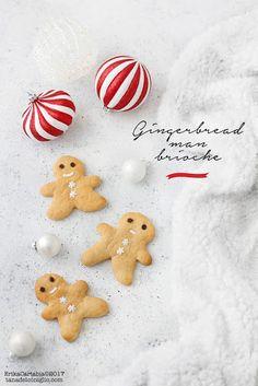 La tana del coniglio: Gingerbread man brioche