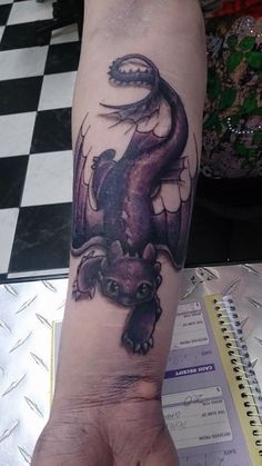 toothless dragon tattoo - Google Search #dragon #tattoos #tattoo