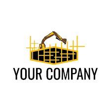 Logo Construction Vector Design - Cool designing | Design your own Cool logo low cost $25 Web Design Company, Design 24, Logo Design, Company Logo, Handyman Logo, Identity, Construction Logo, Real Estate Logo, Branding