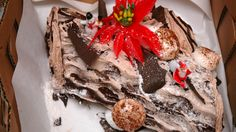 ... images about Yule Logs on Pinterest | Yule log, Yule log cake and Yule