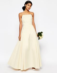 ASOS BRIDAL Dress. so simple, so pretty, and so affordable!