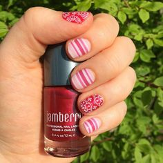 Dearest, Whisper over Ruby lacquer. Oh, the Ruby and Rose box. love it! https://stephaniecrosby.jamberrynails.net/