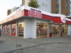 Meganuncius | Reclamos Luminosos | Mercado da Carne www.meganuncius.pt Signage Design, Carne, Minimalism, Signs, Outdoor Decor, Modern, Home Decor, Licence Plates, Tents