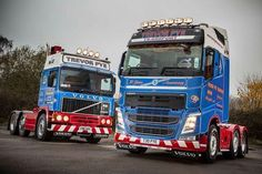 Commercialmotor.com - Trevor Pye Transport celebrates 30 years in business with new Volvo FH. The 30yr old F12 still works every day.