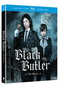 BackAbout Black Butler The Movie Blu-Ray/DVD Black Butler the Movie is inspired by the hit anime series Black Butler, this live-action adaptation brings an all-new story featuring a familiar demon butler doing what butlers do best: helping their masters seek revenge. The Black Butler is back-and there's an all-new mystery to be solved. It'll take one hell of a butler to figure it out!Special Features: Original Trailer, Previews.