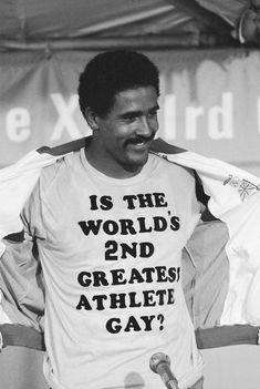 1984 Olympic Games in Los Angeles USA. Great Britain s Daley Thompson celebrates after his gold medal success in the Decathlon event with a ...