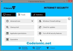 F-Secure Virus Updater 2017 Crack   Serial Key Free Download | CodeIonic - Full Version Software with Cracks