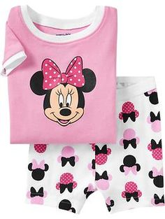 Disney© Minnie Mouse PJ Sets for Baby | Old Navy..kensi would love these
