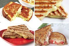 Gourmet Grilled Cheese | Do you know the ideal components for a classic grilled cheese? Ile de France can help. #sandwichrecipes #sandwiches #sandwichlove #recipeideas #nationalsandwichmonth