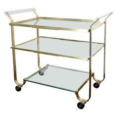 40's bar cart