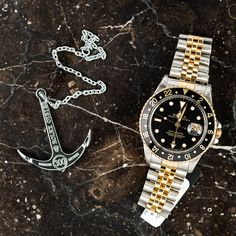 Two-Tone GMT Master | Bob's Watches | #Rolex #GMT #TwoTone #BobsWatches Posted 8/23/16