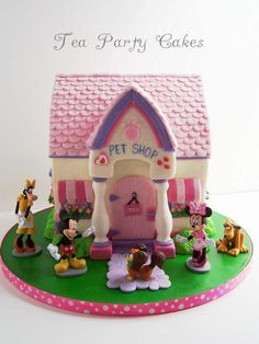 Minnie's Pet Shop - Cake by Tea Party Cakes
