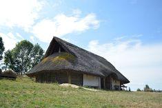 Gabreta, Village Celtes, Hutte