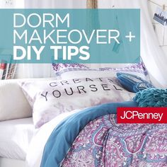 room diy videos Transform Your Dorm Room With These DIY Tips Pb Teen, Dorm Hacks, Hacks Diy, Dorm Room Organization, Organizing, Organization Ideas, Videos Tumblr, Dorm Life, College Life