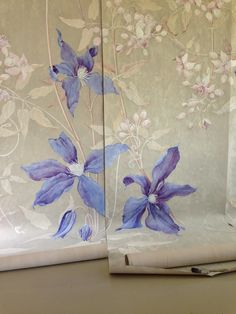 Handpainted Wallpaper - Wouter Dolk