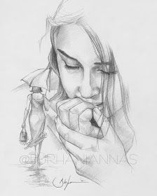 Love Pencil Sketch, Beautiful Pencil Sketches, Cute Drawings Of Love, Art Drawings Beautiful, Art Drawings Sketches Simple, Abstract Pencil Drawings, Beach Photography Poses, Ariana Grande Drawings, Body Reference Drawing