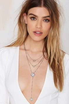 Layer Up Howlite #Necklace - #Accessories