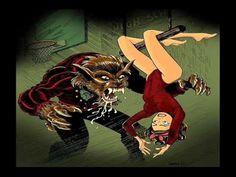 The Cramps ~ Teenage Werewolf