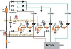 Solid State Contactor Circuit using Triacs and SCRs