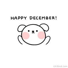 """chibird: """"Have some squishy puppy cheeks and a very happy December! >u< Work has been very busy, so sorry it's been a while! I'm trying my best! Webtoon   Patreon   Instagram """""""