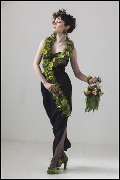 Flower Blog by Francoise Weeks, European Floral Design - botanical couture photoshoot , , February 2014
