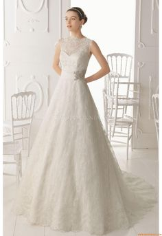 Wedding Dresses Aire Barcelona 1C5 Oxel 2014
