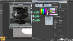 Video Corso Iray + 3ds max MDL CarbonFiber