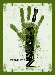 World war Z Movie poster. 2013. by Chris Garofalo