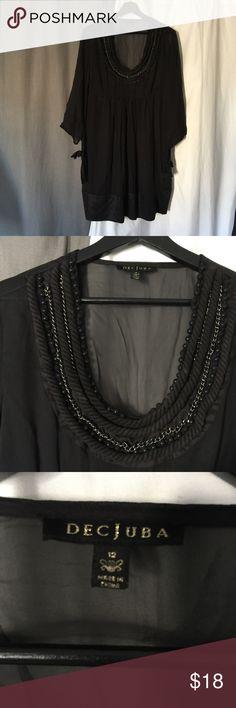 Decjuba dress Amazing Australian brand dress- stunning on and sheer. Perfect over a slip dec Dresses Midi